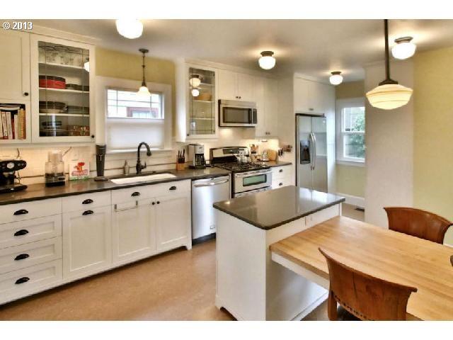 Galley Kitchen Refrigerator Placement Kitchen Inspirations Home Kitchens Galley Kitchen