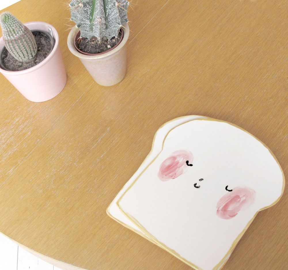 The product Bread Plate is sold by Charlotte Mei in our Tictail store.  Tictail lets you create a beautiful online store for free - tictail.com