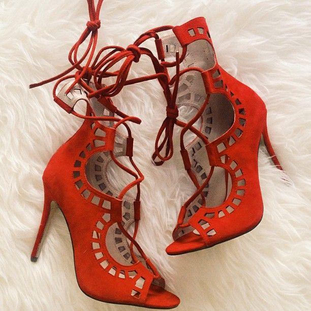 red heels always make a statement