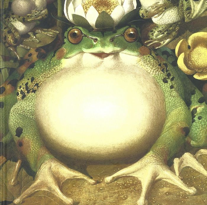 Frog Prince - Frog Song, by Brenda Z. Guiberson, illustrations by Gennady Spirin.