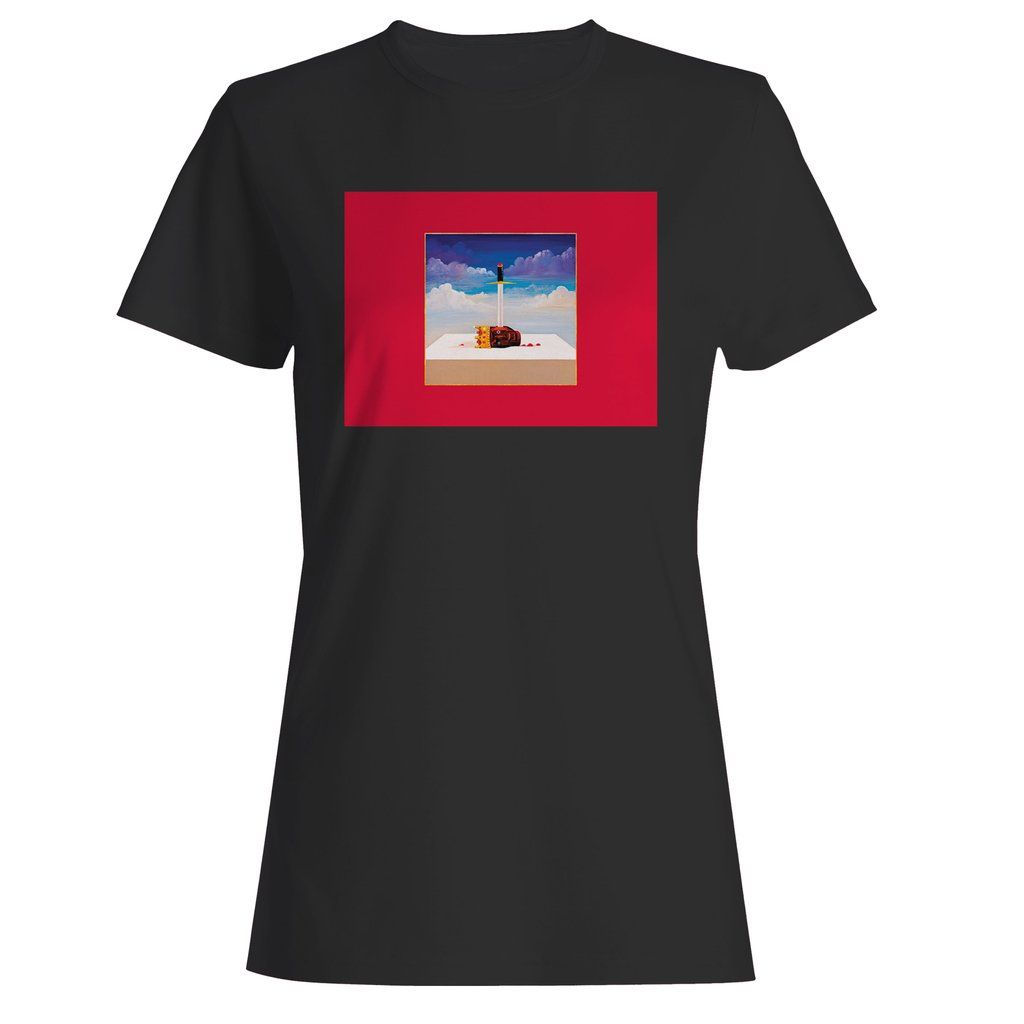 Kanye West My Beautiful Dark Twisted Fantasy Woman S T Shirt