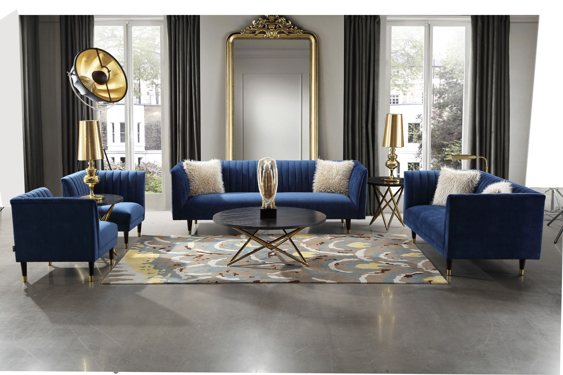 Royal Blue Elegant Sofas Blue Living Room Decor Blue Sofas Living Room Velvet Sofa Living Room