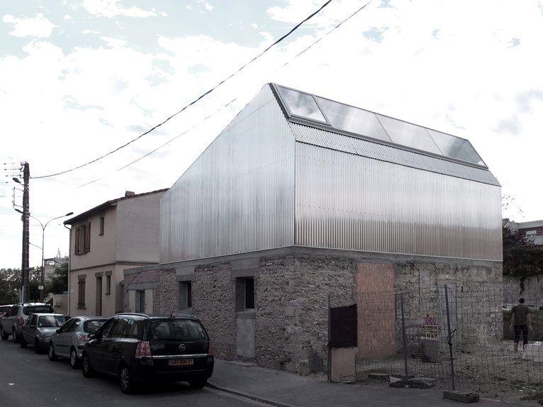Réhabilitation et surélévation d une maison toulouse francia