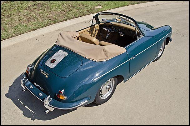 1961 Porsche 356 Cabriolet
