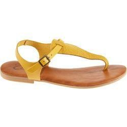 sandals -  Girls leather toe sandals by Fit-z – size: 41, yellow Fit-zfit-z  - #EasyFitness #FemaleF...