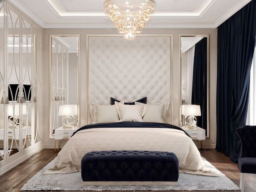 Black White And Gold Bedroom Luxurious Bedrooms Master Bedrooms