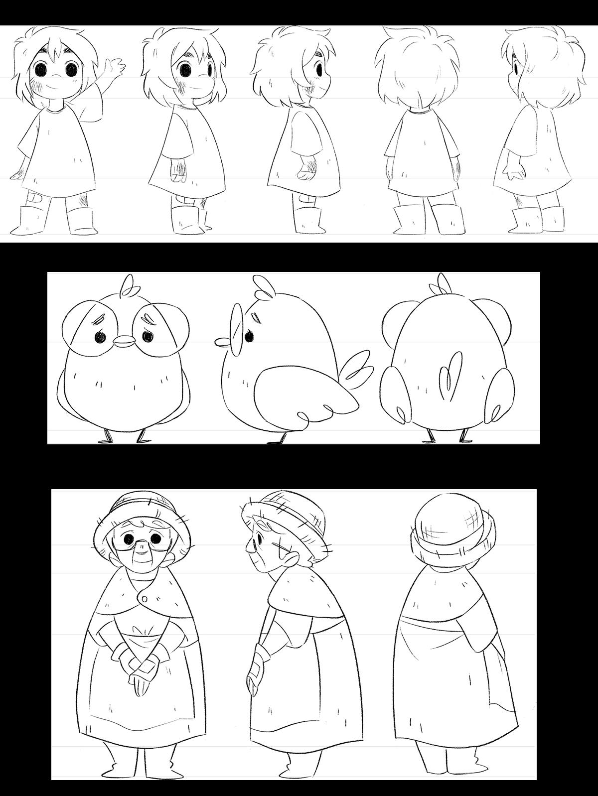Iris\' Garden: Family Character Designs on Behance | Imprimibles ...