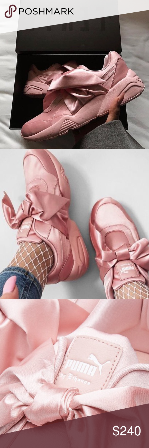 Rihanna x Fenty bow sneakers Brand new with box and tags Puma Shoes Sneakers c2608cd5b