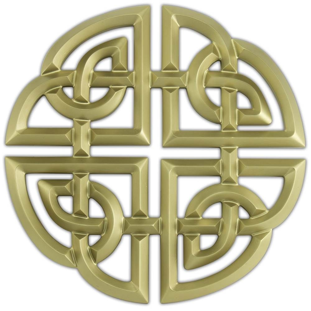 Celtic Knot Wall Decoration The Celtic Shield Knot Resin Shield Knot
