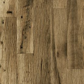 Allen Roth 4 15 16 In W X 50 3 4 In L Rustic Mill Oak