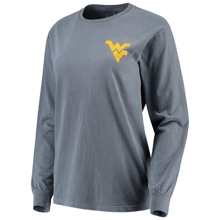 West Virginia Mountaineers Grey Long Sleeve Shirt XL
