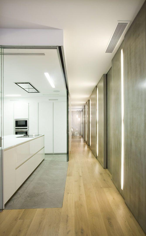 Cocina y pasillo reforma vivienda c amaya interiores cocinas y pasillos - Houzz salones ...