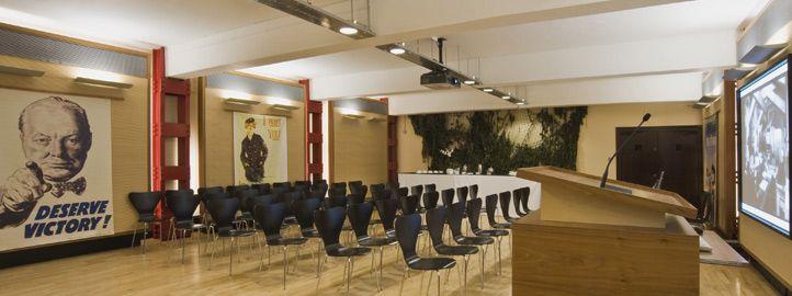 HCA Auditorium at the Churchill War Rooms | WW2 | Pinterest