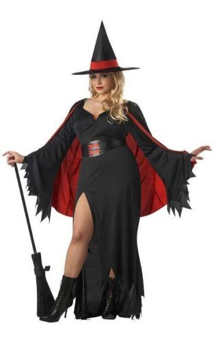 Scarlet Witch Black And Red Adult Womens Plus Size Fancy Dress