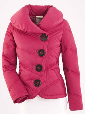 II) Coats - Puffer jacket are no longer...puffy, thanks to ...