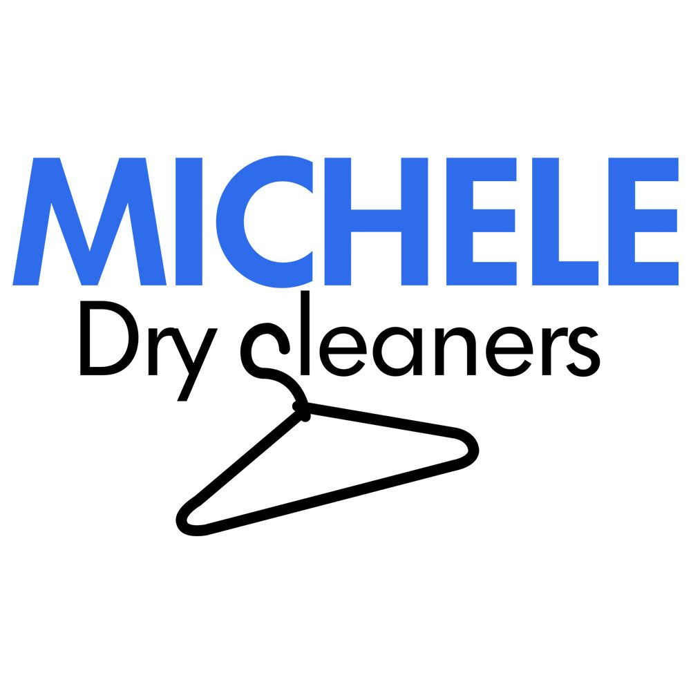 dry cleaner logo design michele dry cleaners long island
