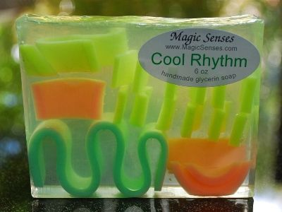 Cool Rhythm Handcrafted Glycerin Soap from @Alaska Madden Madden Madden Madden Madden Young Senses
