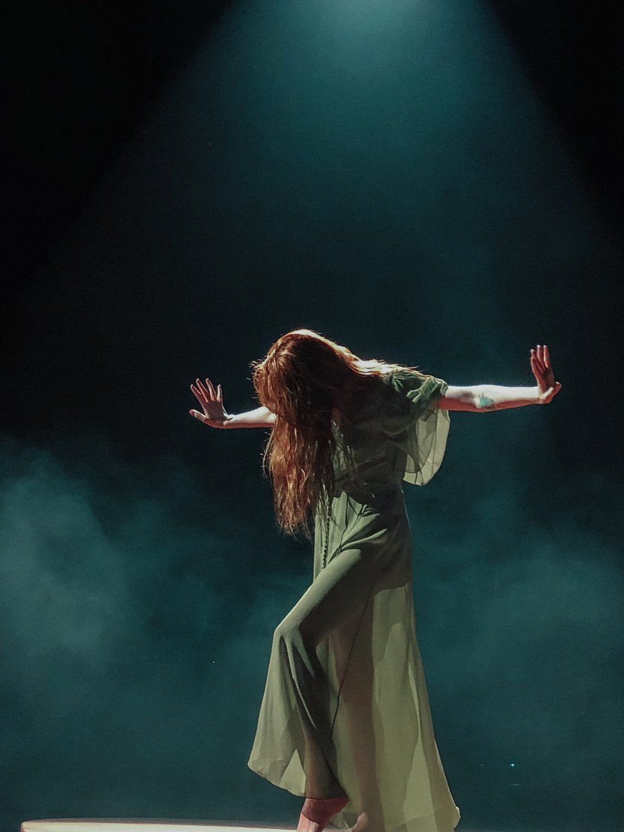 Florence + the Machine performing in Leeds High As Hope