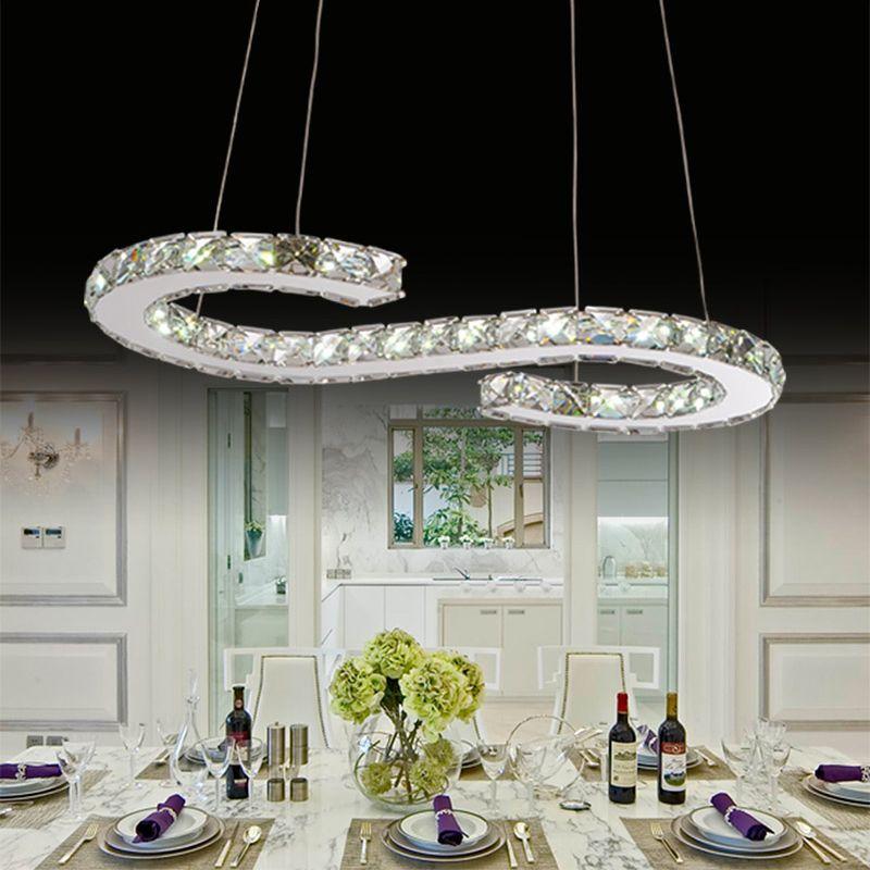 New S Crystal Chandelier Dining Room Light