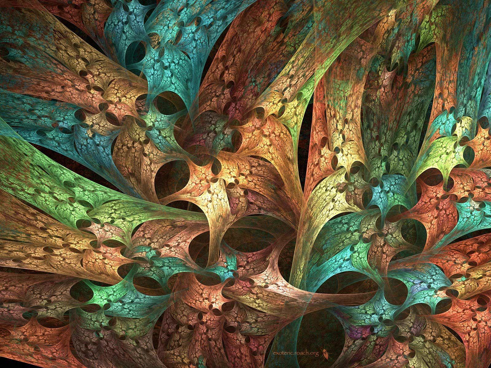 Desktop Wallpaper 3d-art Lace Textures & Patterns Fractals