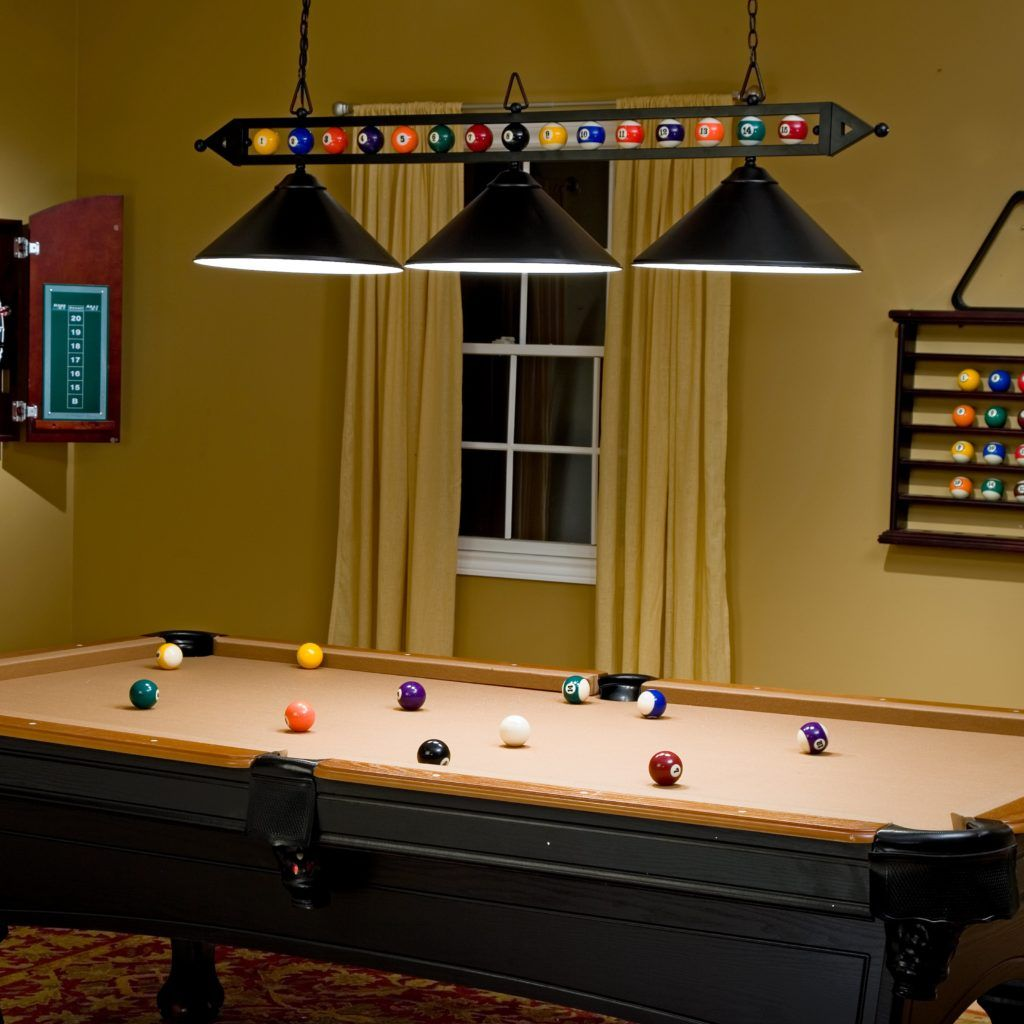 New contemporary pool table lights all contemporary design pool