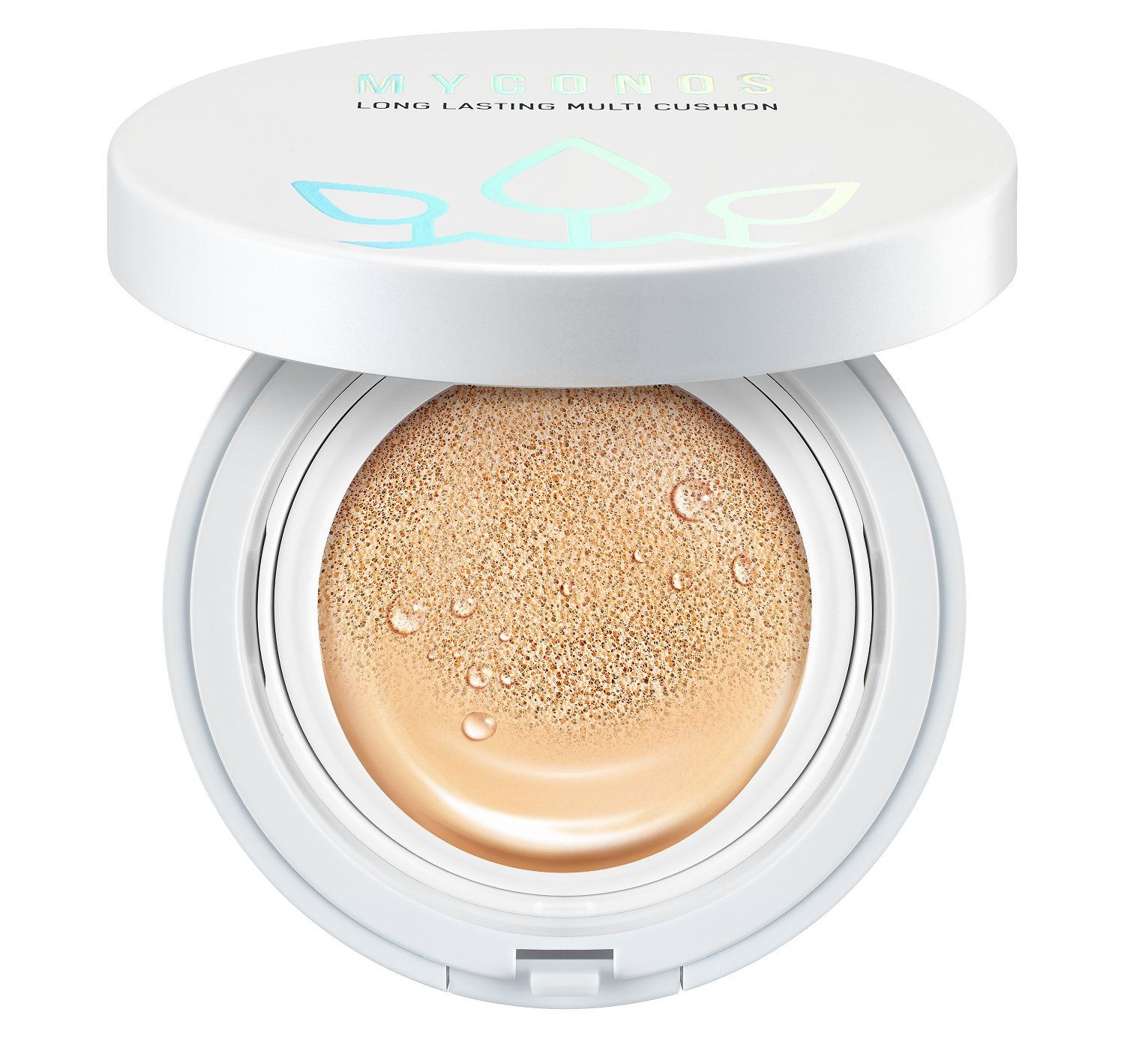 Myconos Magic Bb Cc Moist Air Cushion Compact Korean Cover