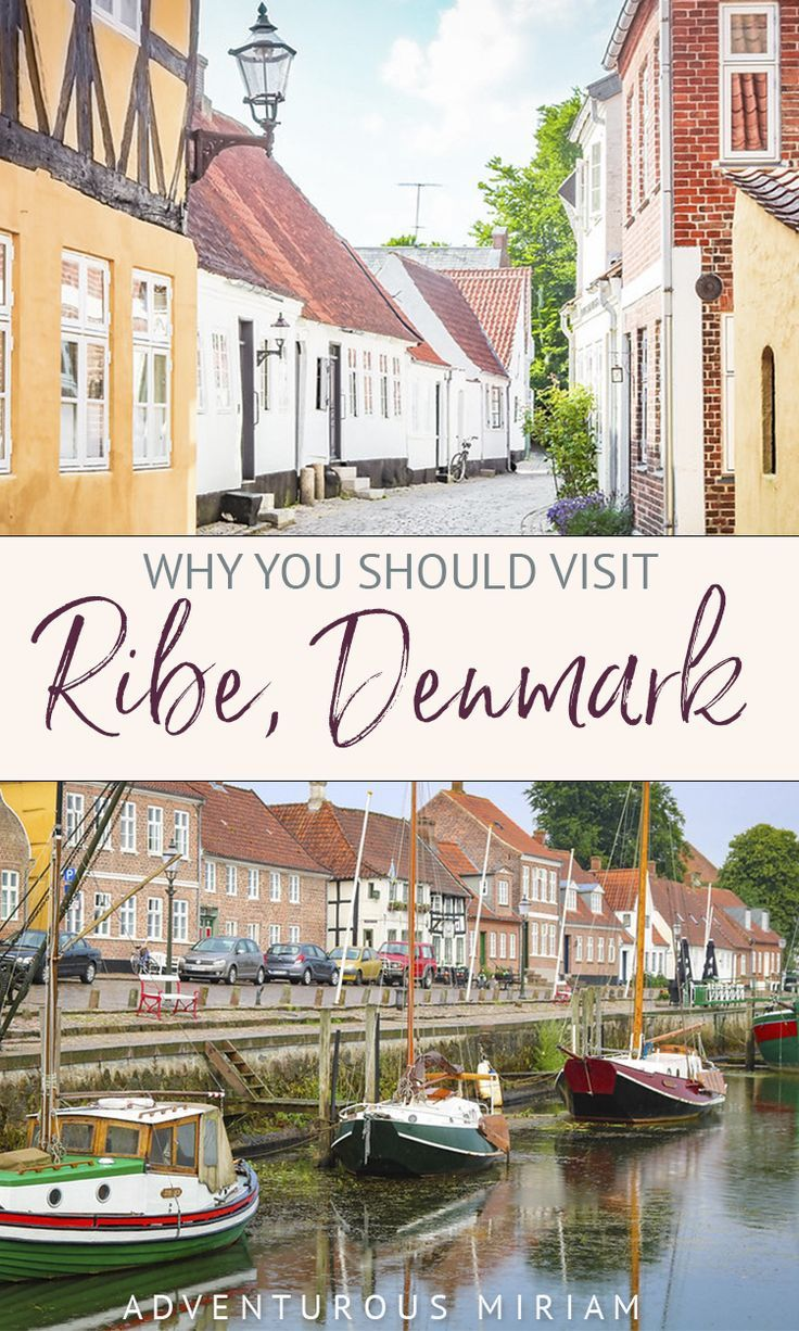 I had no idea that Ribe Denmark would be THAT charming! Read my travel blog about Ribe and find out how you can visit the oldest town in Scandinavia, a medieval vibe and lots of Danish hygge. #ribe #denmark #scandinavia
