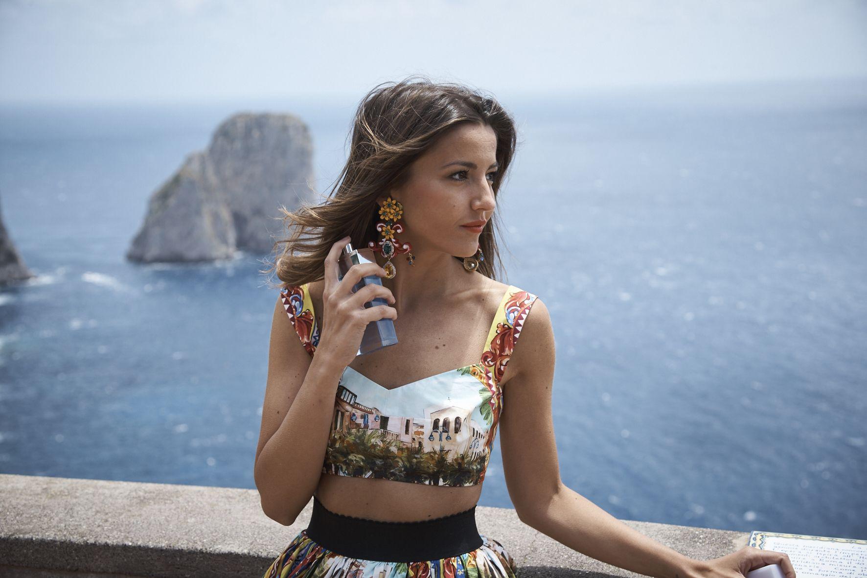 Breathing the atmosphere of an Italian summer: Love in Capri, the new  #DGlightblue women's fragrance #lightbluejou… | Dolce and gabbana, Women,  Dolce gabbana jacket
