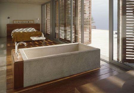 Cast Concrete Bath Tub Ideas