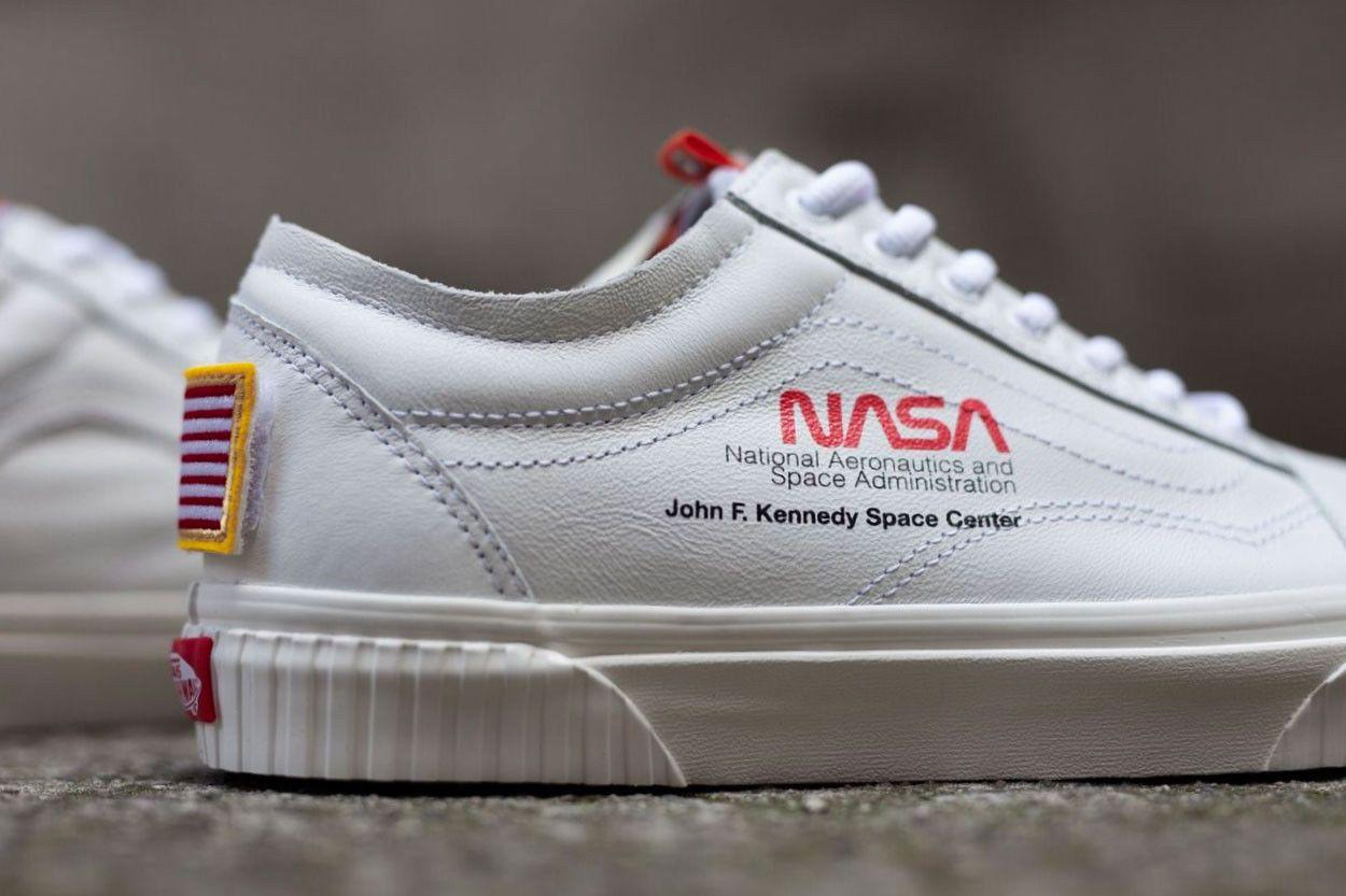 Details about NASA x Vans Old Skool Space Voyager True White ...
