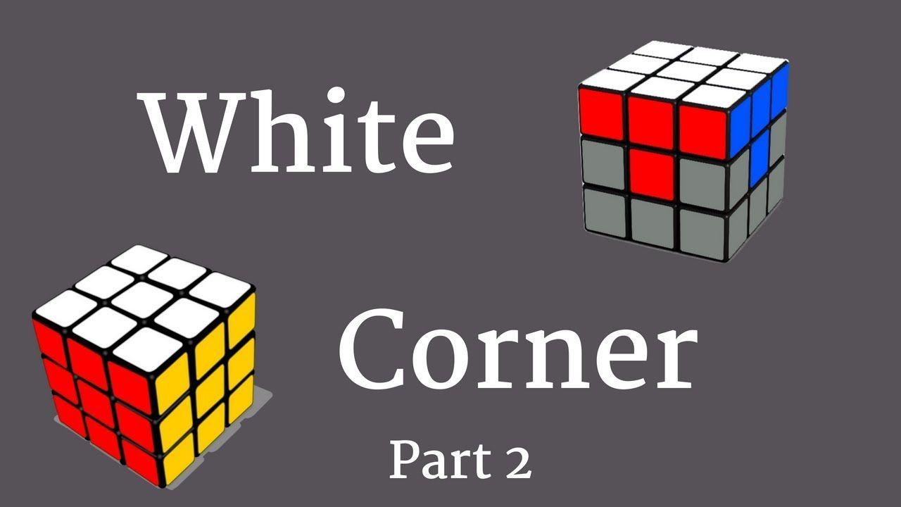 Corners first rubik
