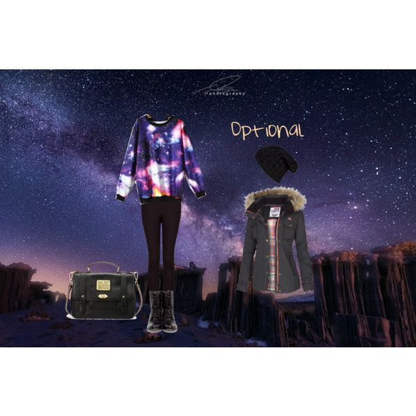 """""""Cold Galactic Night"""" by stephkv on Polyvore"""