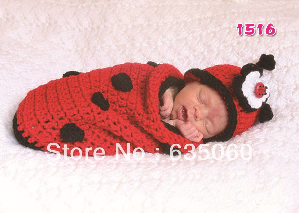 Free Crochet Baby Sack Patterns | baby hats+sleeping bag infant ...