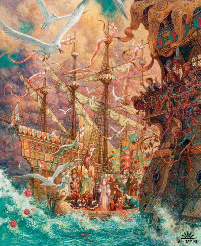 иллюстрации к сказке русалочка антон ломаев: 22 тыс ...