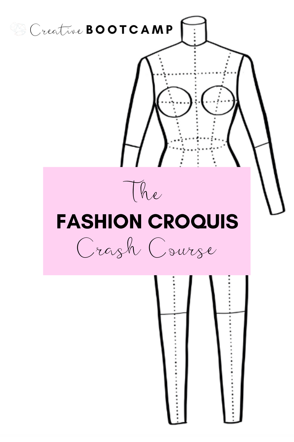 You don't have to be a strong or confident artist to start drawing fashion illustrations. Start drawing today with this course. It comes with the templates you can swipe to shortcut your design today!#fashion #illustration #croquis #course #templates #drawing #sketch