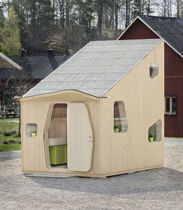 Little Eco-home Made of Wood   Architect Lover   Interesting ...