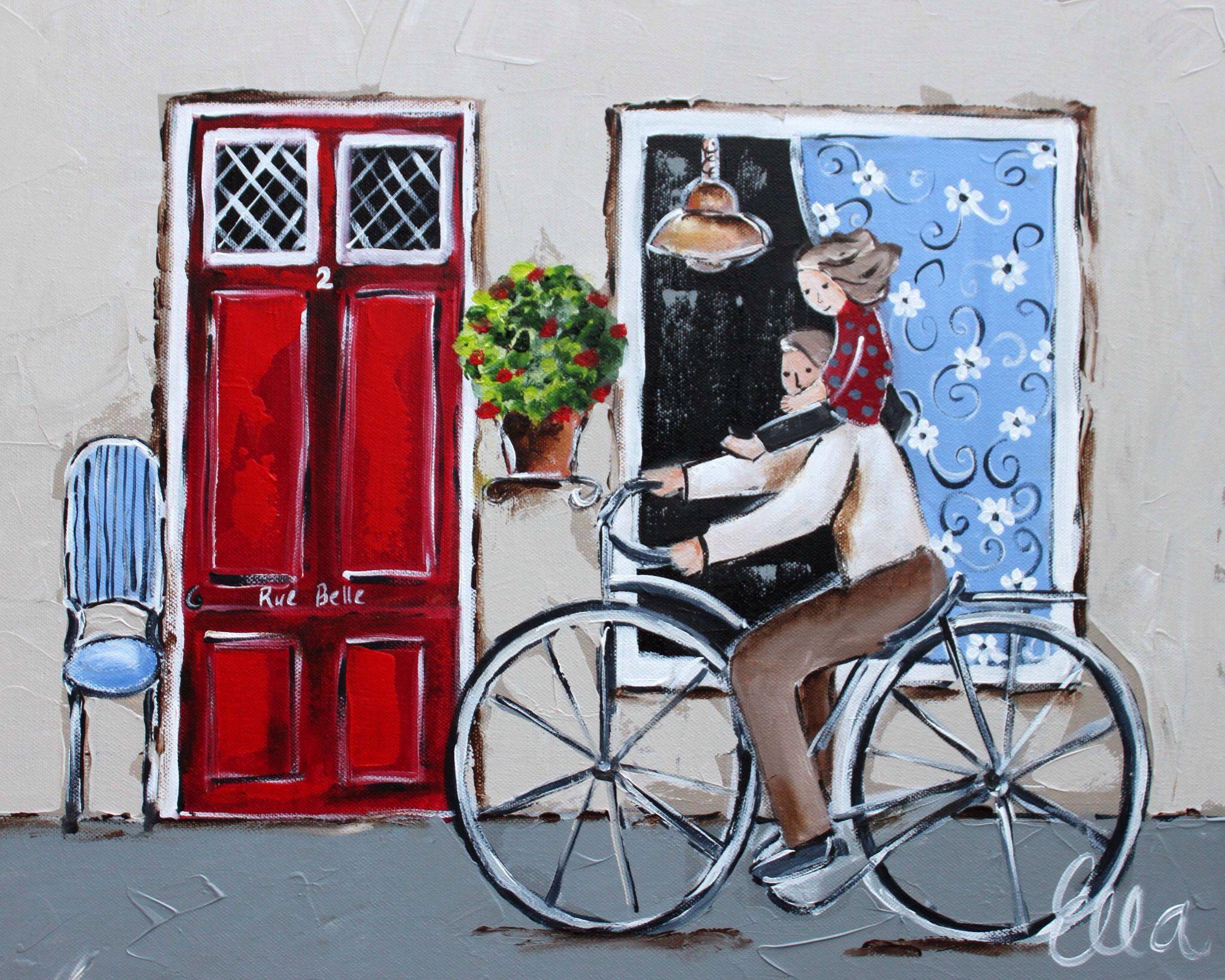Artist - Ella - Bicycles