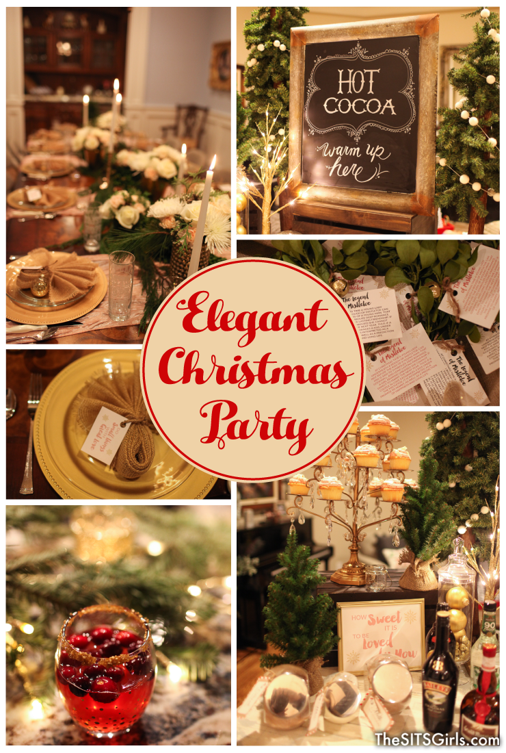 elegant christmas decor plan an elegant christmas party this year with these beautiful ideas for your holiday table food and decor - Youth Christmas Party Decorations