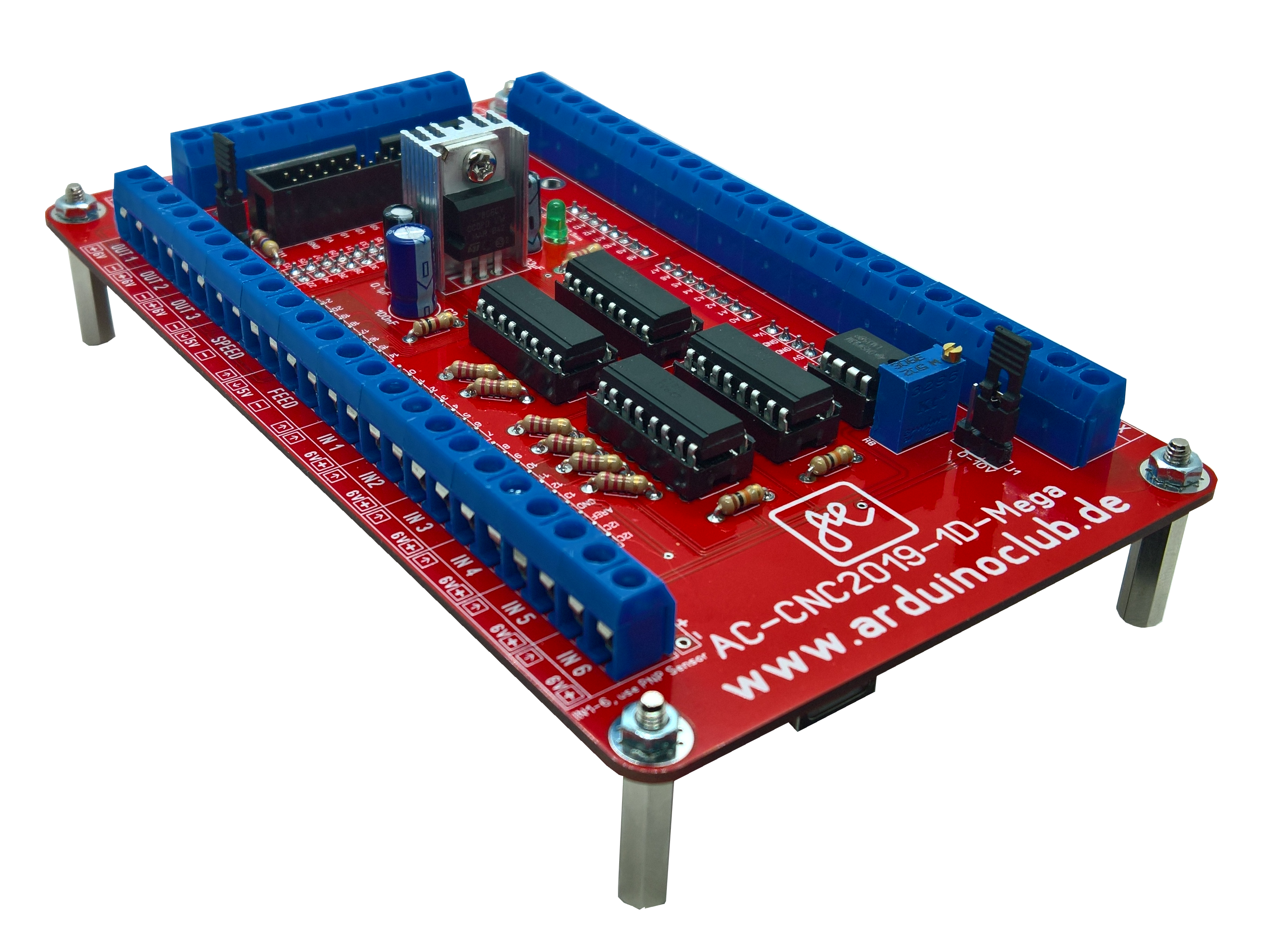 The new CNC motion controller for ESTLCAM based on the
