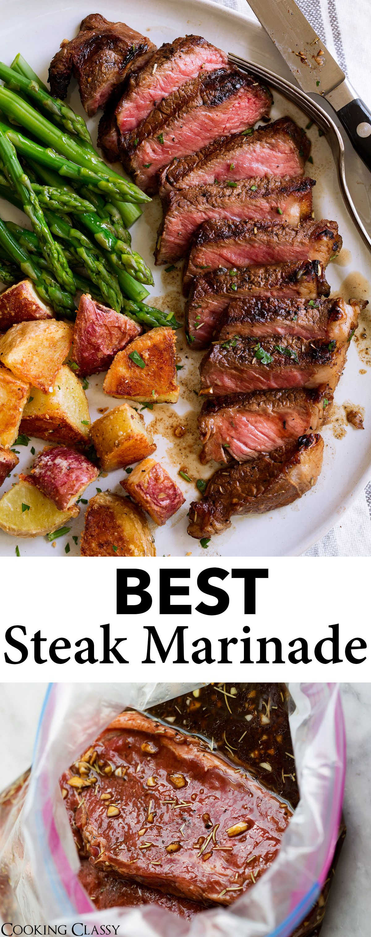 Best Steak Marinade {Easy and So Flavorful!} - Cooking Classy