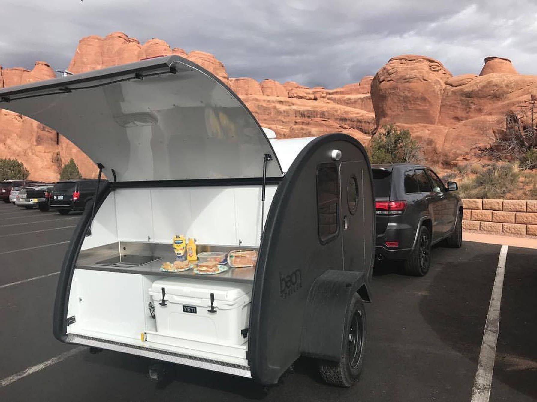 Light, smart on/off-road teardrop trailer is as cute as a ...