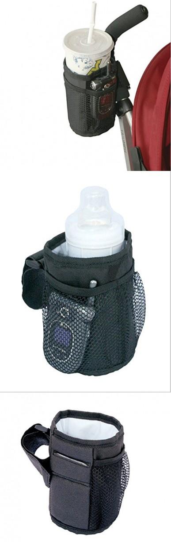 Yosoo Universal Adjustable Baby Stroller Cup Water Bottle Holder Rack Wheelchair Bike Bicycle Bottle Bike Water Bottle Holder Bottle Rack Water Bottle Holders