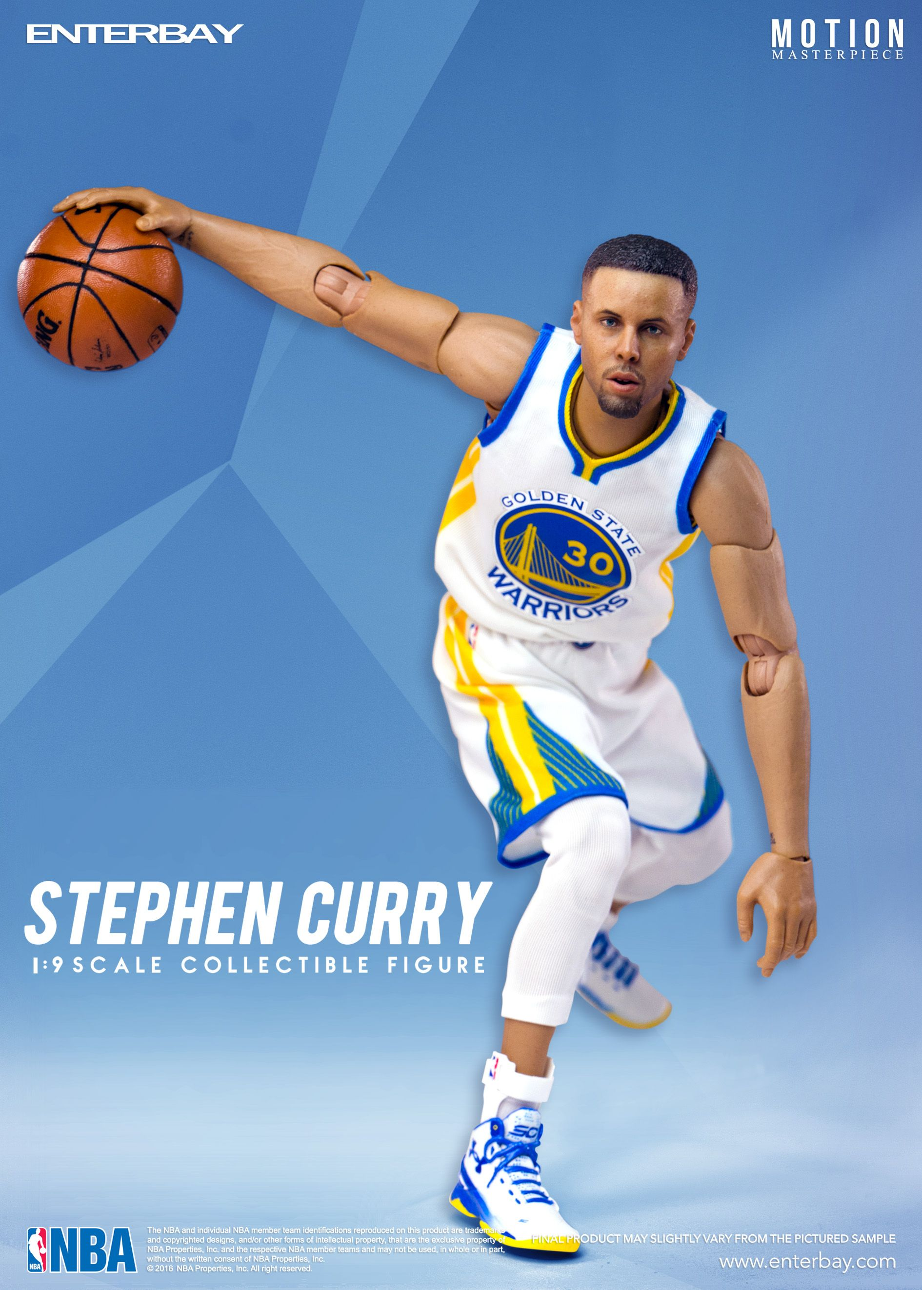 e1f2b3d61c7280 1 9 Motion Master Pieces Stephen Curry by ENTERBAY Official which invites  you to experience the innovation of our officially licenced NBA   movie ...