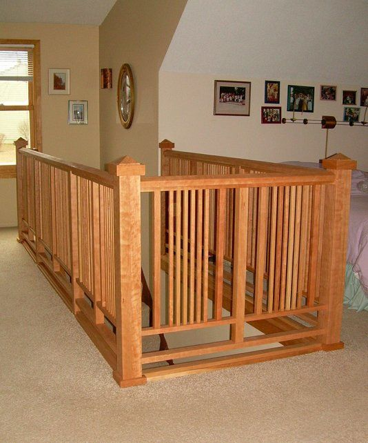 Custom Made ARTS & CRAFTS RAILING By Third Street Studios