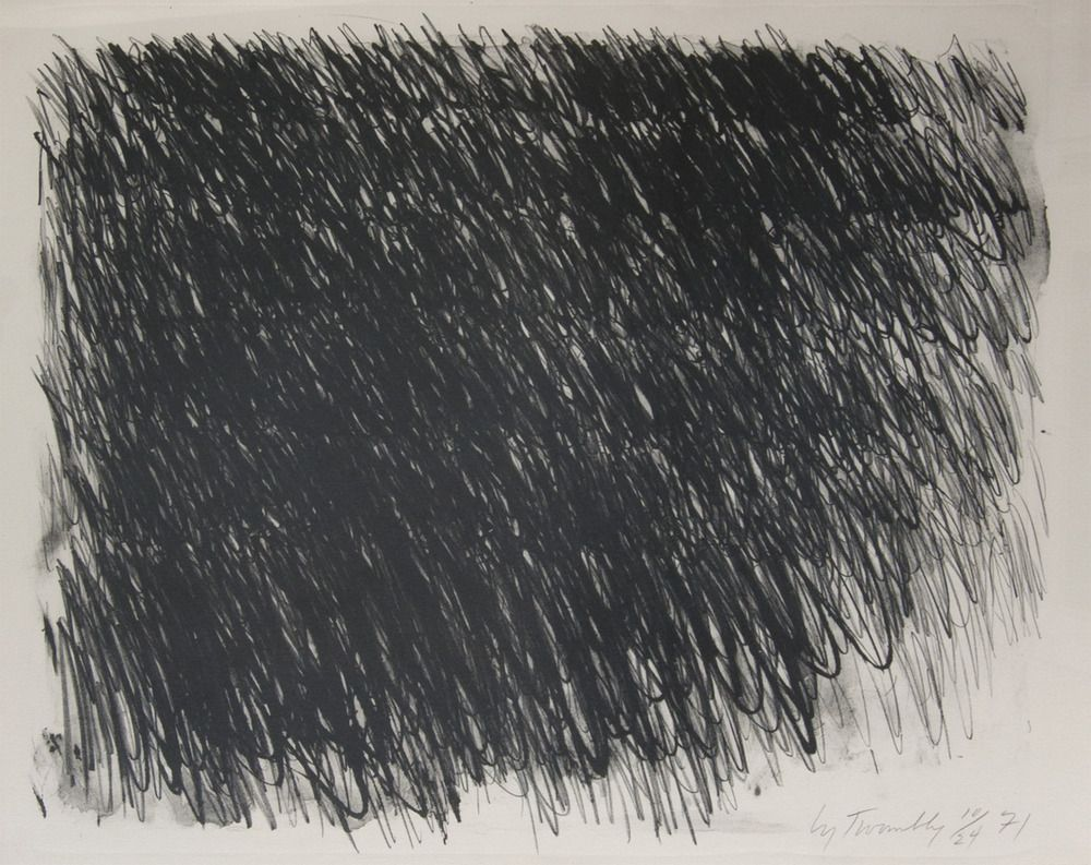 untitled,1971 • cy twombly