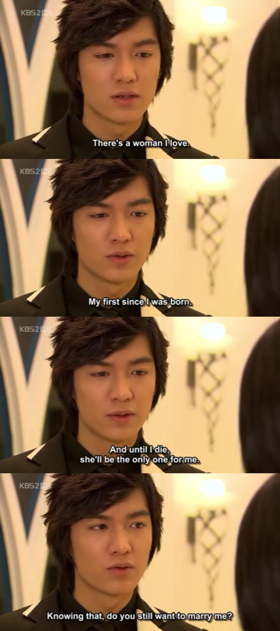Imagenes De Jandi gu jun pyo (boys before flowers) about his love for jan di