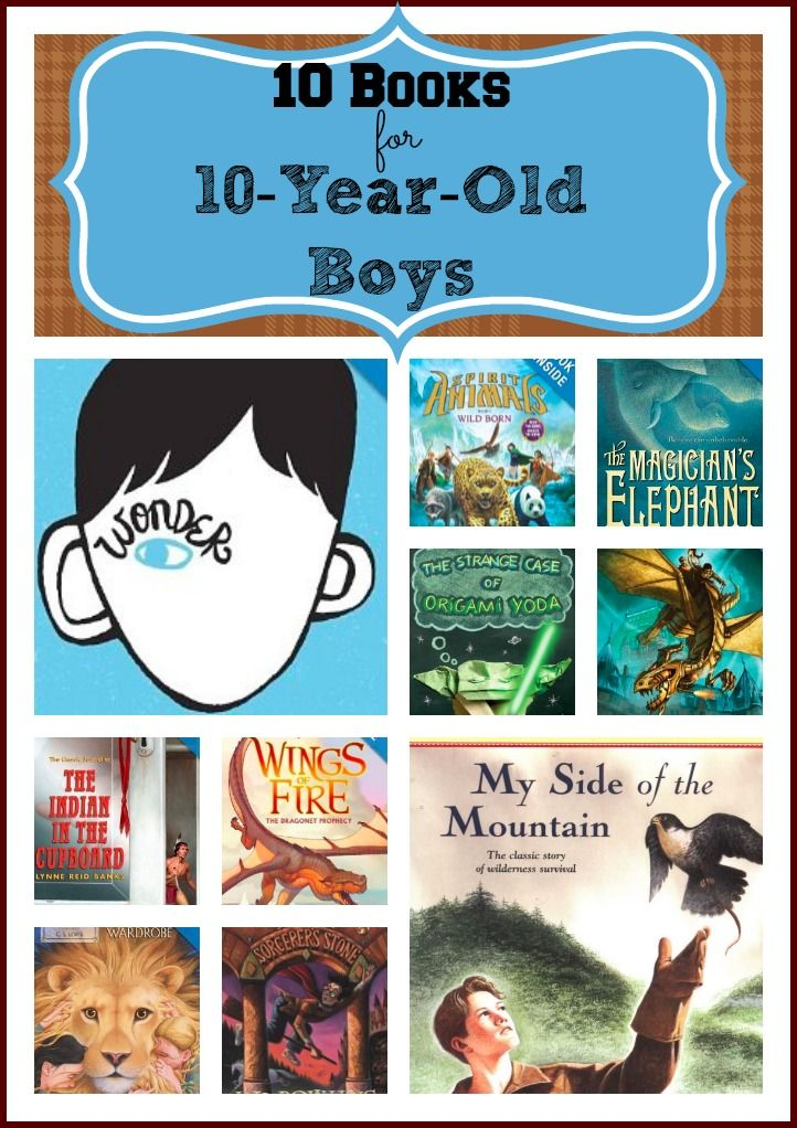 10 Books For 10 Year Old Boys Great List Definitely Must Check