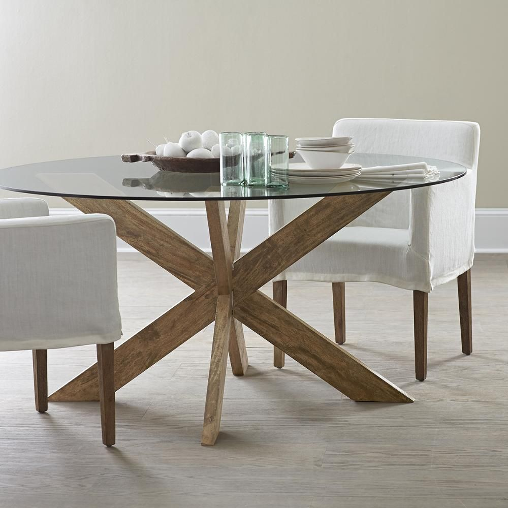 Modern X Base Dining Table Round Dining Room Table Round Dining