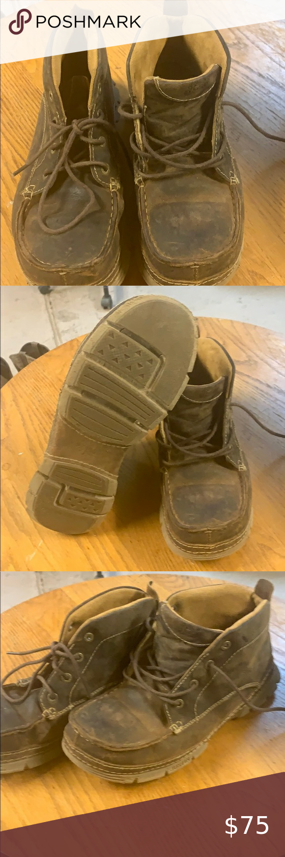 Steel toe, Justin boots, Chukka boots