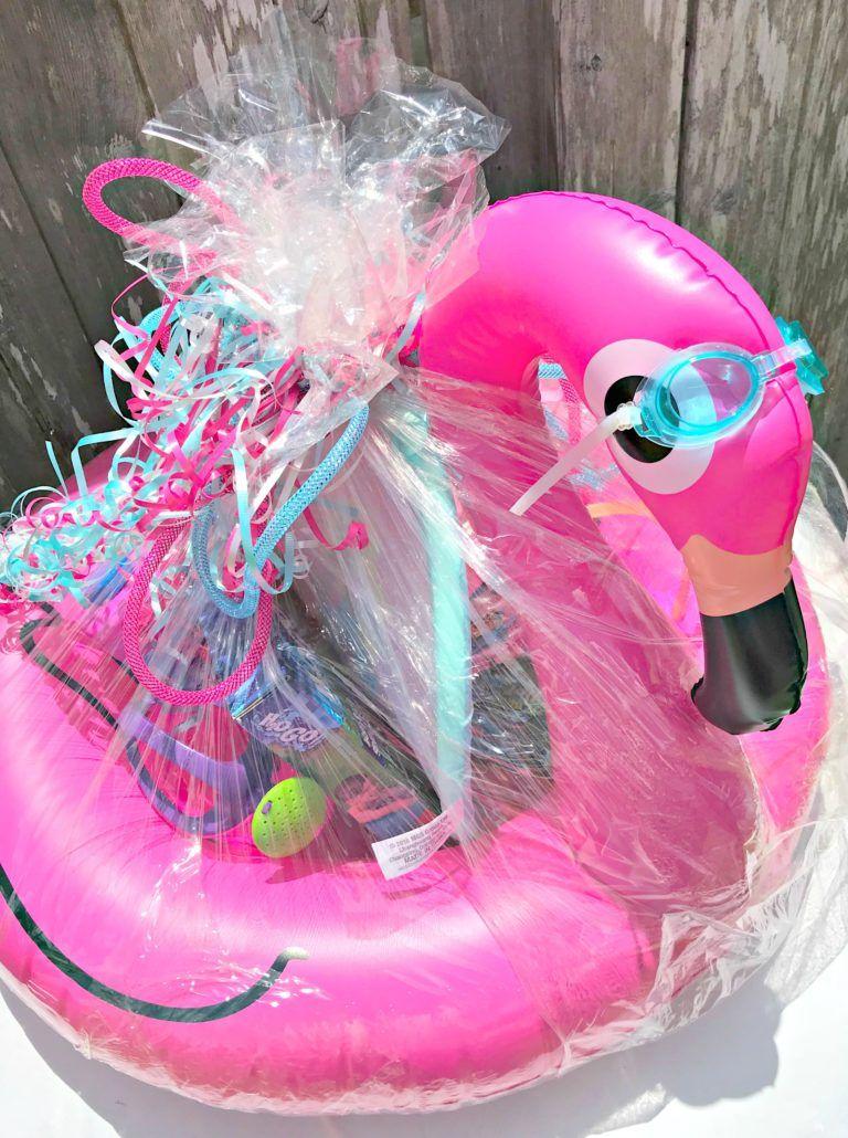 Flamingo Float Summer Basket!